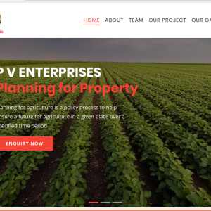 P V Enterprises Planning